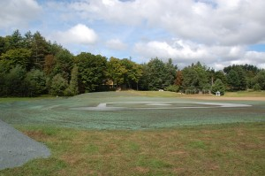 Grantham Recreation Park Hydroseeding Fall 2009 008